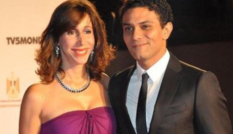 اسر ياسمين وزوجته