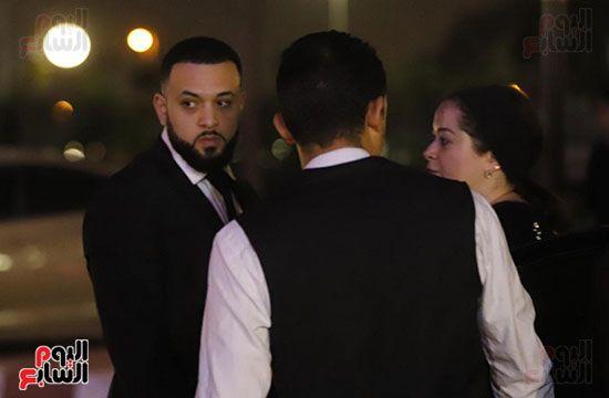 رامي اخو هيثم احمد زكي مع مي نور الشريف
