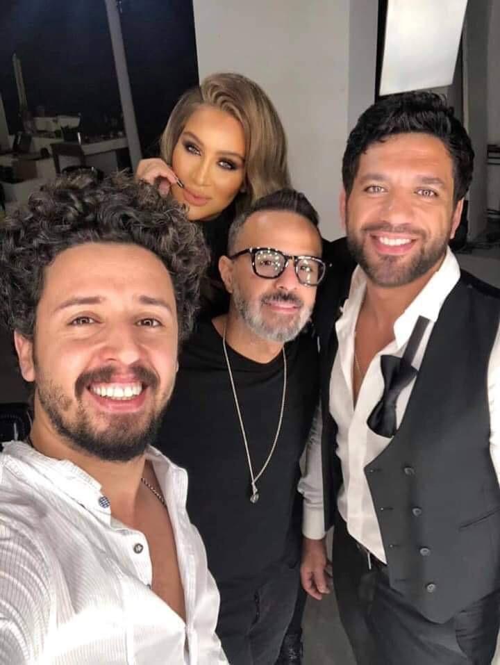 مايا دياب وحسن الرداد وحمدى بدر