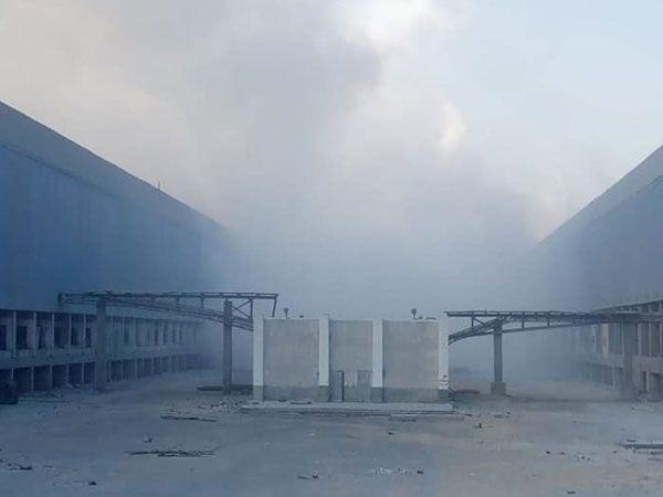 عاجل.. اندلاع حريق في إحدى محطات الكهرباء بمجمع الألومنيوم بنجع حمادي