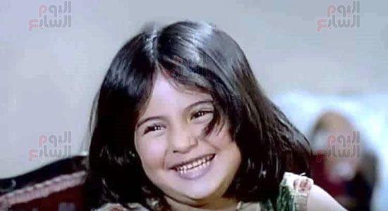 هالة طفلة فيلم الحفيد ، ميرفت العايدى فى فيلم الحفيد (8)