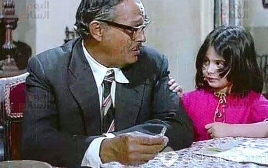هالة طفلة فيلم الحفيد ، ميرفت العايدى فى فيلم الحفيد (15)