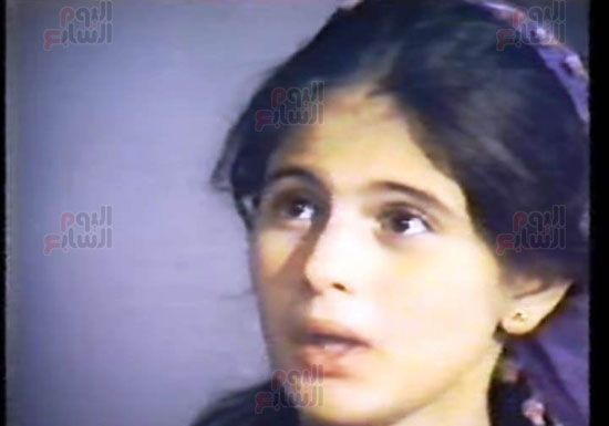 هالة طفلة فيلم الحفيد ، ميرفت العايدى فى فيلم الحفيد (4)