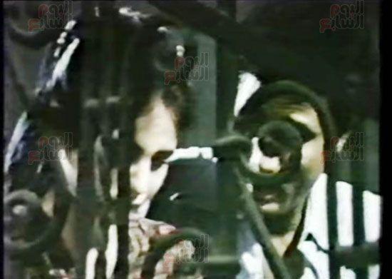 هالة طفلة فيلم الحفيد ، ميرفت العايدى فى فيلم الحفيد (11)