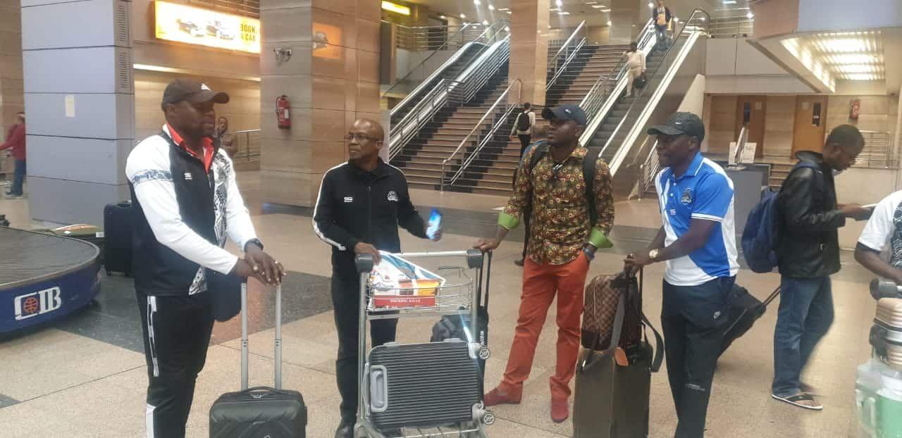شاهد.. وصول بعثة فريق مازيمبي الكونغولي استعدادًا لمواجهة الزمالك
