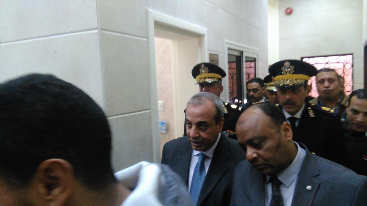 مساعد وزير الداخلية لوسط الدلتا يفتتح نقطه شرطة محلة حسن (1)