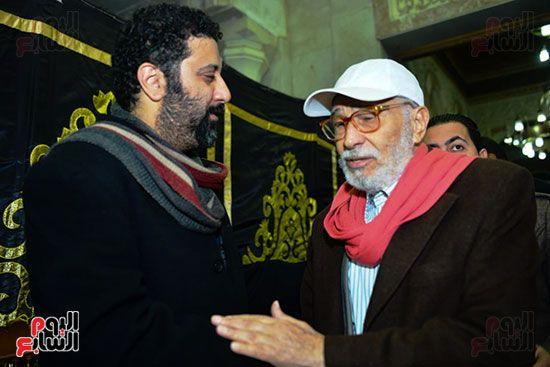 عبد الرحمن أبو زهرة والمخرج شادى الرملى