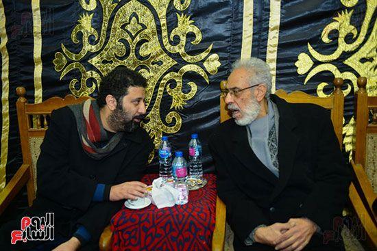 جانب من حديث نبيل الحلفاوى والمخرج شادى الرملى