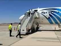 مصر للطيران تسير أول رحلة سياحية لطابا - صورة أرشيفية