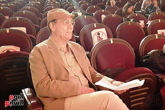 الفنان الكبير احمد فؤاد سليم نجم العمل الوطني