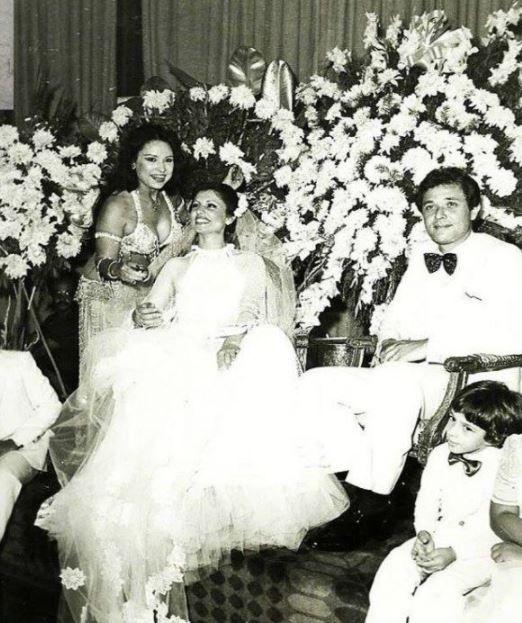 محمود عبد العزيز فى حفل زفافه