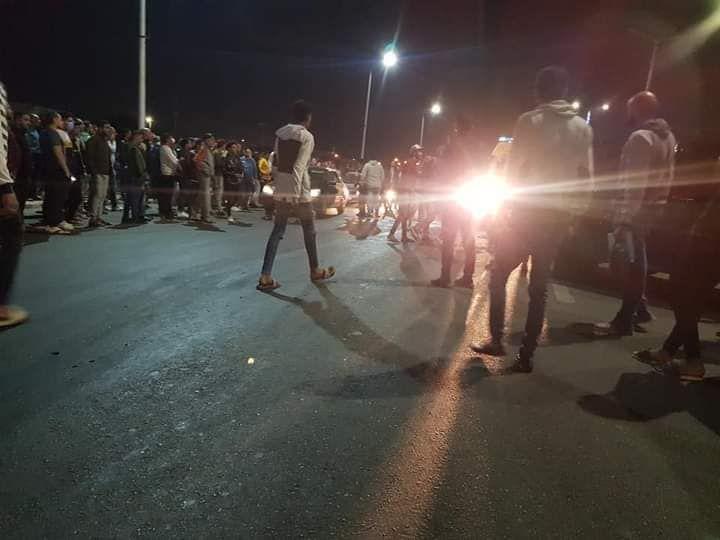 حادث تصادم بطريق السلام بالسويس (3)