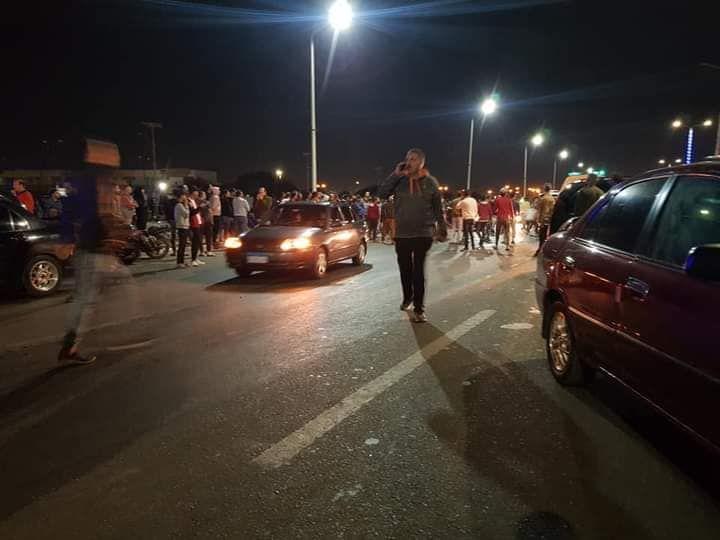 حادث تصادم بطريق السلام بالسويس (8)