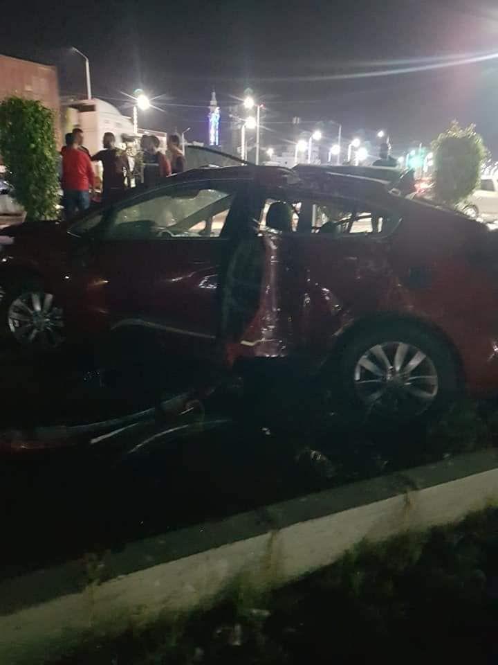 حادث تصادم بطريق السلام بالسويس (11)