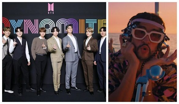باد بانى و الفريق الكوري BTS
