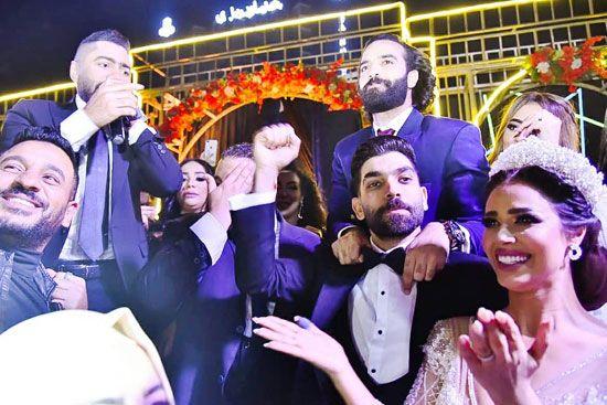 حفل زفاف المطربة رنا سماحة (7)