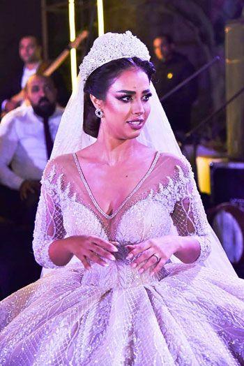 حفل زفاف المطربة رنا سماحة (8)