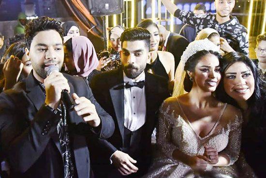 حفل زفاف المطربة رنا سماحة (5)