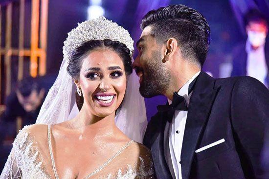 حفل زفاف المطربة رنا سماحة (1)