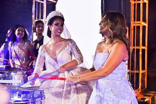 حفل زفاف المطربة رنا سماحة (9)
