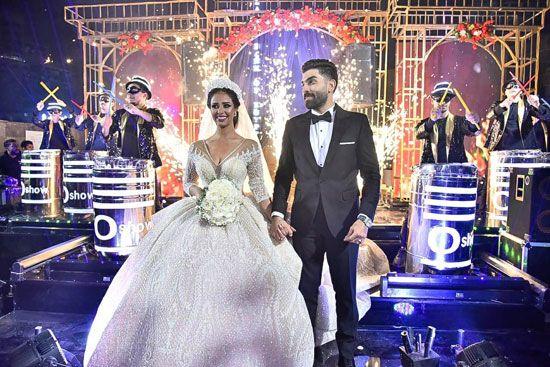 حفل زفاف المطربة رنا سماحة (10)