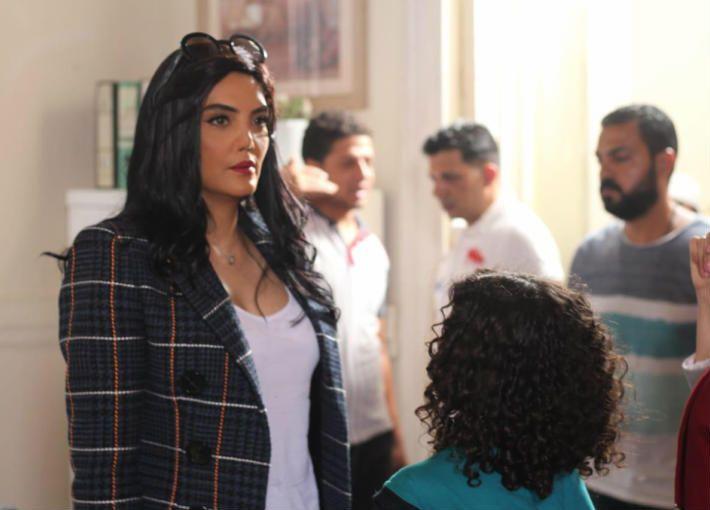 حورية فرغلى من فيلم استدعاء ولى عمرو