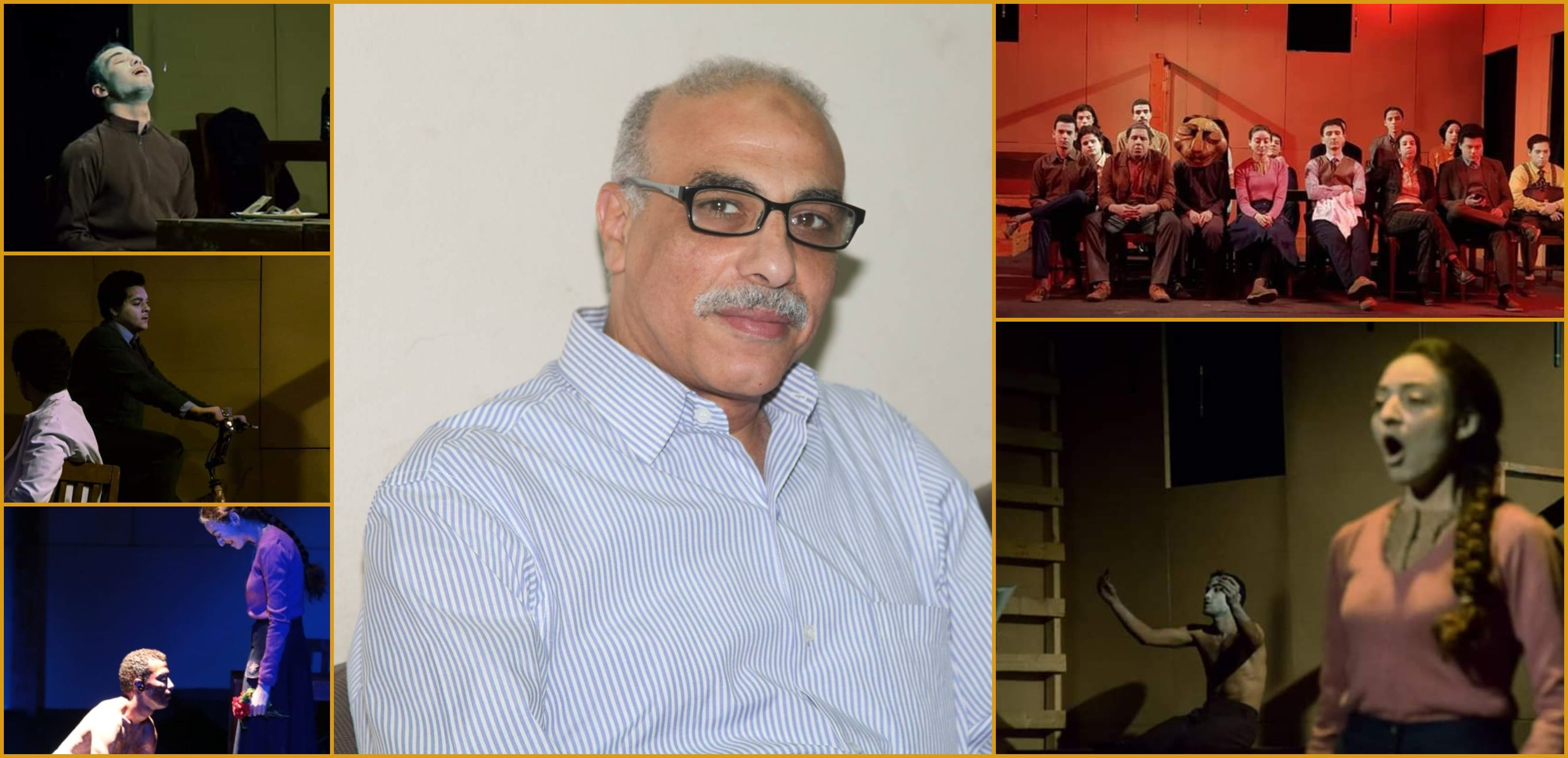 الناقد احمد خميس حصل علي جائزة افضل مقال نقدي