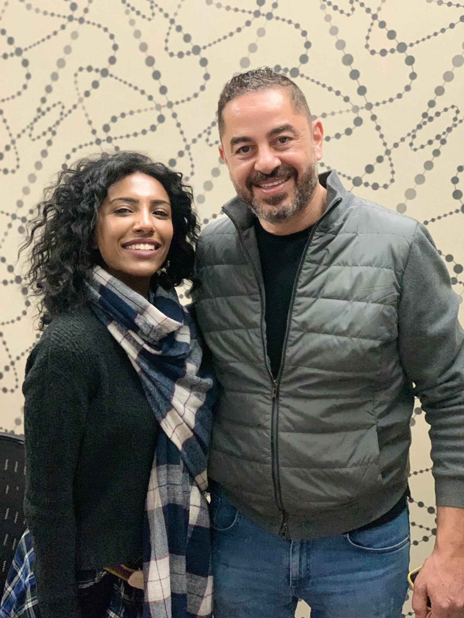 المخرج احمد شفيق اختار امنية العربي للمشاركة في بنت السطان
