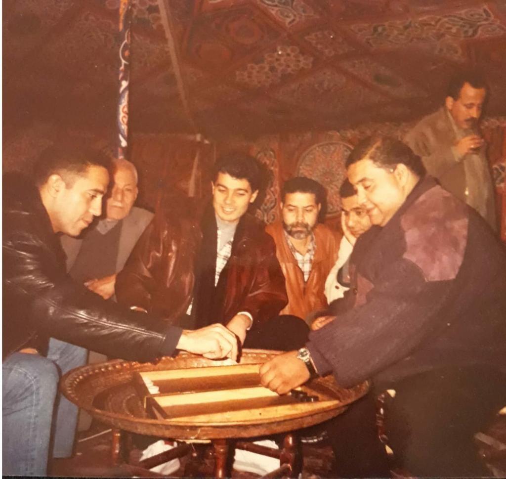 علاء و أشرف و خالد النبوى