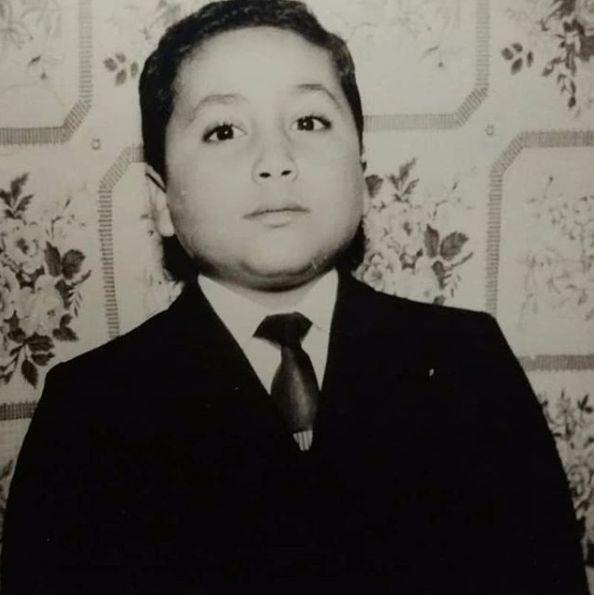 علاء فى طفولته 1