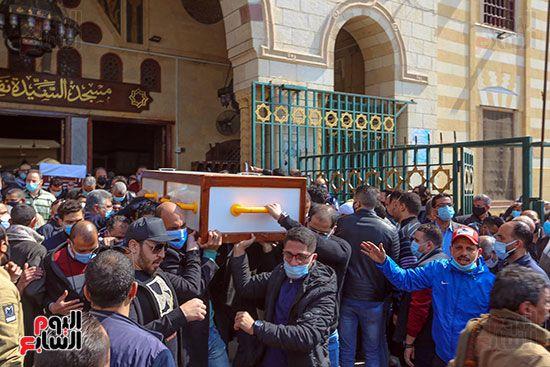 تشييع جثمان اللواء سعد عباس، رئيس صوت القاهرة، ومدير أمن ماسبيرو الأسبق (3)