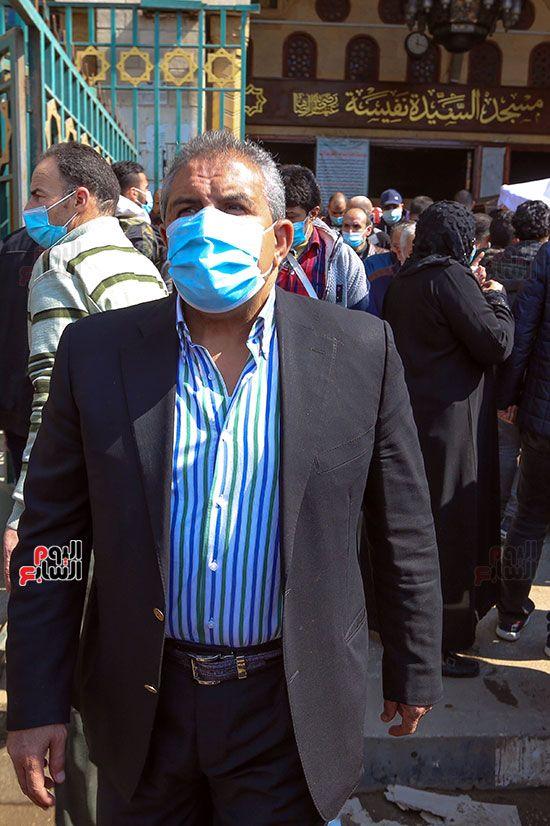 تشييع جثمان اللواء سعد عباس، رئيس صوت القاهرة، ومدير أمن ماسبيرو الأسبق (6)