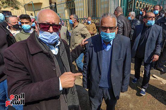 تشييع جثمان اللواء سعد عباس، رئيس صوت القاهرة، ومدير أمن ماسبيرو الأسبق (7)