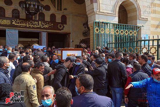 تشييع جثمان اللواء سعد عباس، رئيس صوت القاهرة، ومدير أمن ماسبيرو الأسبق (2)