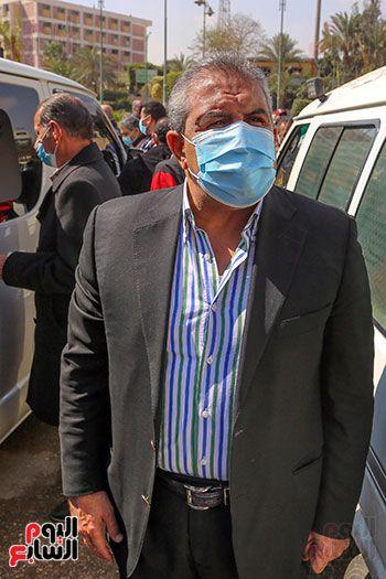 تشييع جثمان اللواء سعد عباس، رئيس صوت القاهرة، ومدير أمن ماسبيرو الأسبق (8)