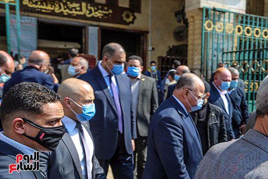 تشييع جثمان اللواء سعد عباس، رئيس صوت القاهرة، ومدير أمن ماسبيرو الأسبق (9)