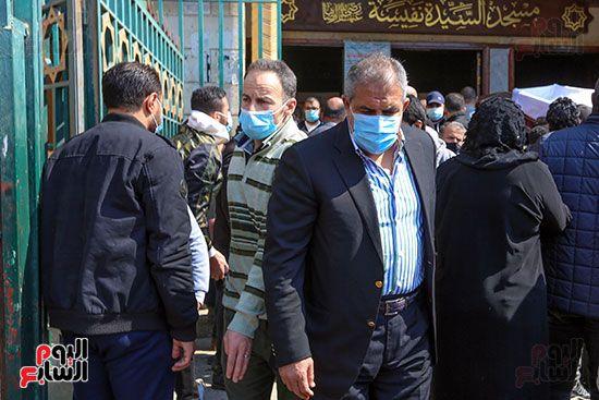 تشييع جثمان اللواء سعد عباس، رئيس صوت القاهرة، ومدير أمن ماسبيرو الأسبق (5)