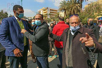 تشييع جثمان اللواء سعد عباس، رئيس صوت القاهرة، ومدير أمن ماسبيرو الأسبق (11)