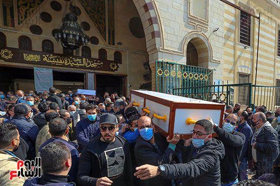 تشييع جثمان اللواء سعد عباس، رئيس صوت القاهرة، ومدير أمن ماسبيرو الأسبق (4)