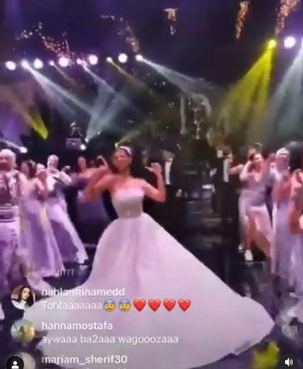 حفل زفاف دينا داش