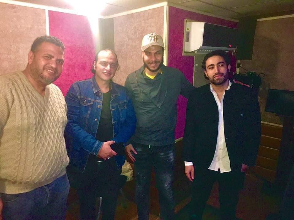 كواليس اغنية وائل الفشنى (2)