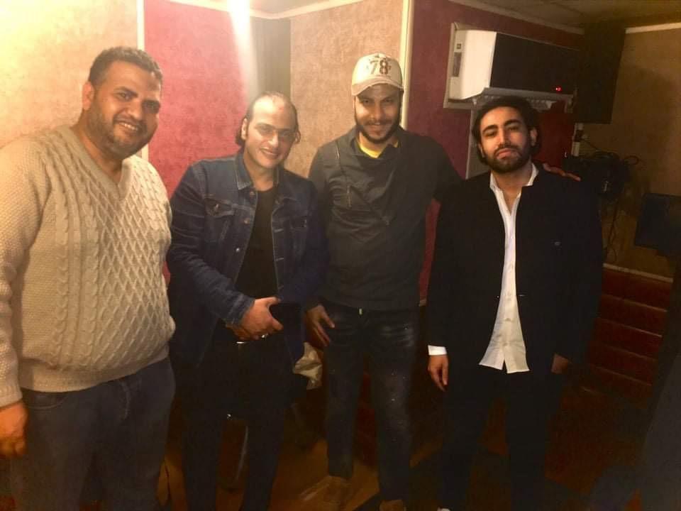 كواليس اغنية وائل الفشنى (1)