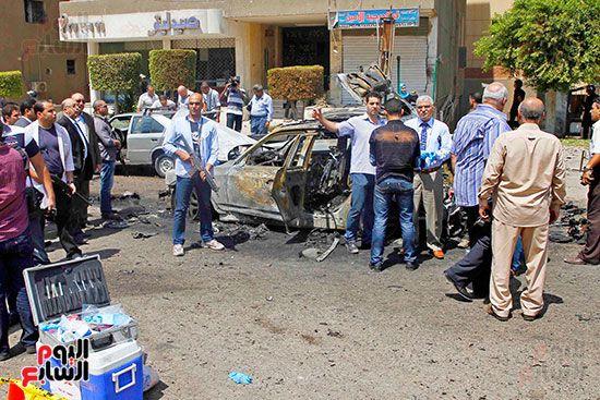100491-حادث-انفجار-موكب-وزير-الداخلية-ماهر-اسكندر-5-9-2013-(14)