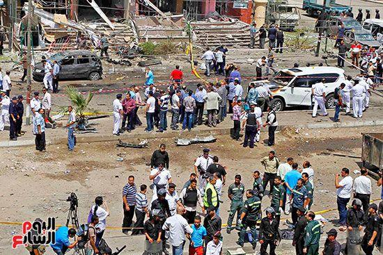 118229-حادث-انفجار-موكب-وزير-الداخلية-ماهر-اسكندر-5-9-2013-(20)
