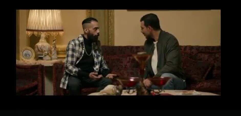 مشهد من المسلسل