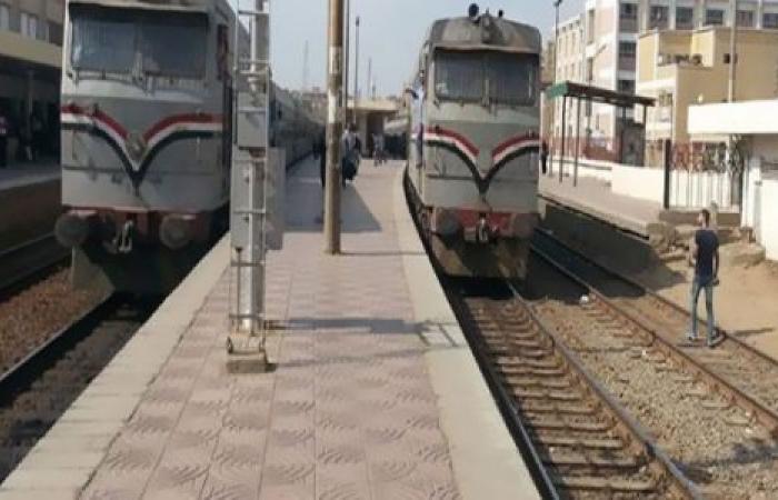 الوفد -الحوادث - السكة الحديد: قطار يصدم سيارة ملاكي في مكان غير مخصص للعبور بالبحيرة موجز نيوز