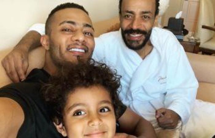 #اليوم السابع - #فن - محمد رمضان بصحبة ابنه فى زيارة سريعة لشقيقه بأمريكا