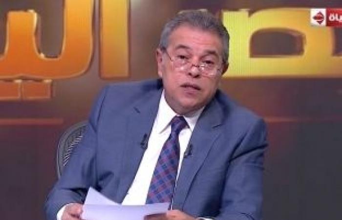 اخبار السياسه عكاشة: أبوس جزمكم يا مصريين اتفرجوا عليا عشان تعرفوا المؤامرة ضد مصر