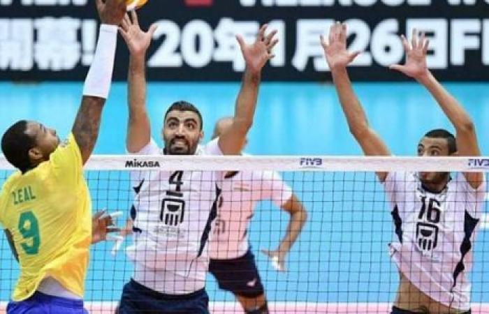 الوفد رياضة - منتخب مصر يخسر أمام البرازيل في كأس العالم للكرة الطائرة موجز نيوز