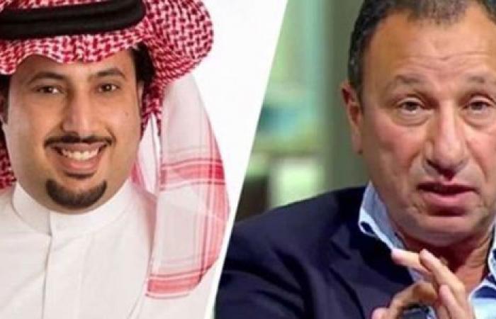 الوفد رياضة - شاهد.. رسالة تركي آل الشيخ إلى محمود الخطيب موجز نيوز